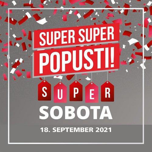 Kdaj je čas za super nakupe in super nagrade? 🛍️ 😍 To soboto, 18. septembra, te v Supernovi čakajo  🎁 celodnevni...
